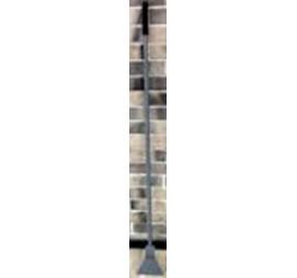 Ледоруб с топором Б-2 (сварной) с металлической и резиновой ручкой