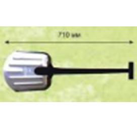 Лопата автомобильная алюминиевое лезвие